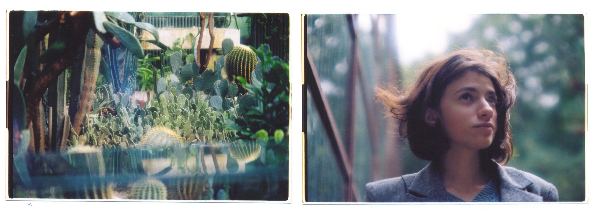 Anca in botanic garden